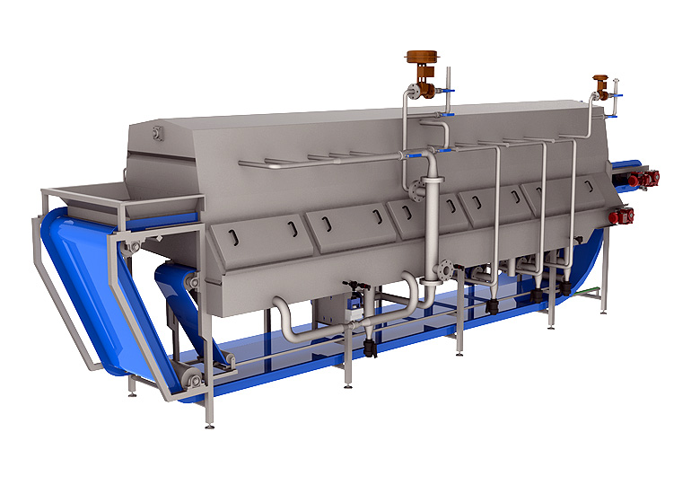 Blanching Machines For Vegetables
