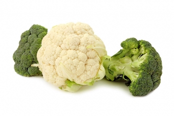 Broccoli and cauliflower processing line